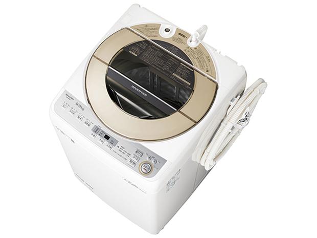 シャープ 9.0kg 全自動洗濯機 ES-GV9C-N