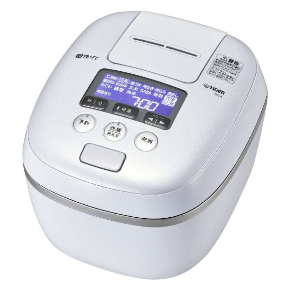 タイガー 炊きたて 5.5合炊き 圧力IH炊飯ジャー JPC-A102-WE