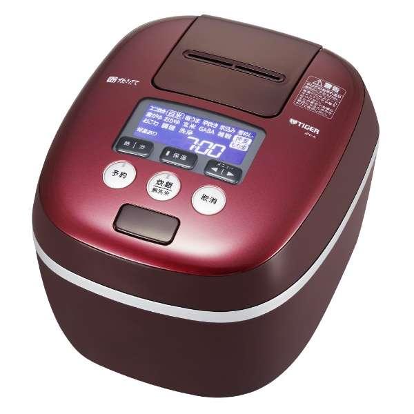 タイガー 炊きたて 1升炊き 圧力IH炊飯ジャー JPC-A182-RD