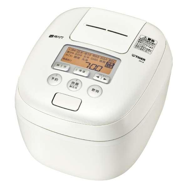 タイガー 炊きたて 5.5合炊き 圧力IH炊飯ジャー JPC-B102-WM