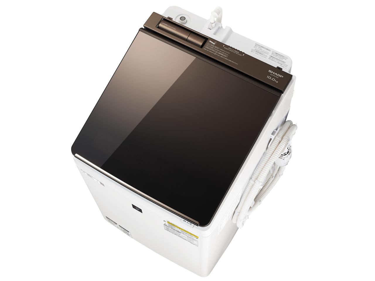 シャープ 10.0kg 10.0kg 洗濯乾燥機 シャープ 洗濯乾燥機 ES-PU10C-T, リサイクルショップメイクバリュー:c68647f1 --- gallery-rugdoll.com