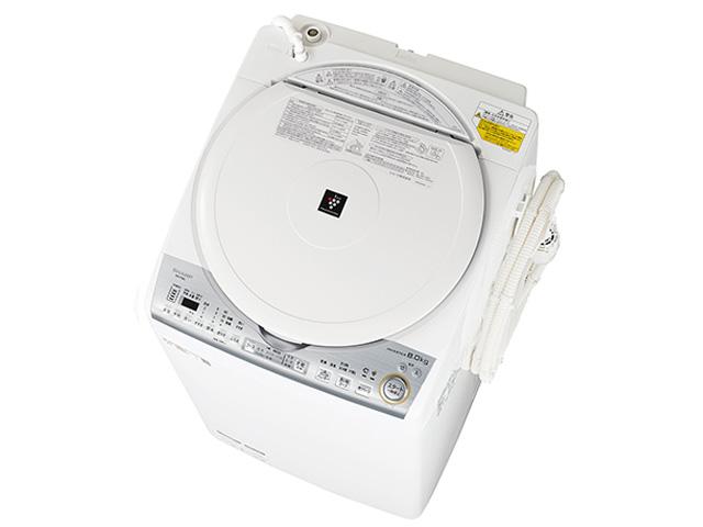 シャープ 8.0kg 洗濯乾燥機 ES-TX8C-W