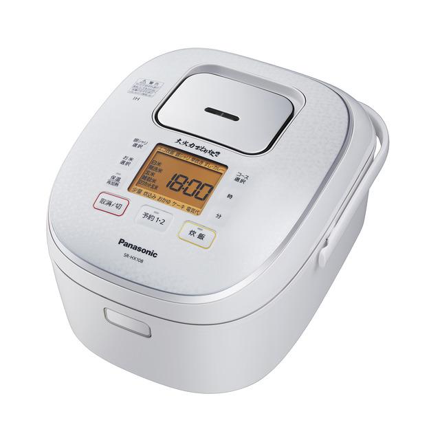 パナソニック IHジャー炊飯器 SR-HX108-W