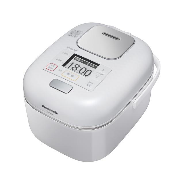パナソニック 可変圧力IHジャー炊飯器 SR-JW058-W
