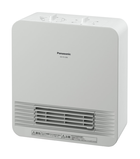 パナソニック セラミックファンヒーター DS-FS1200-W