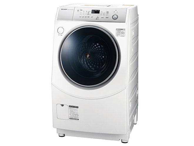 シャープ 10.0kg ドラム式洗濯乾燥機ES-H10C-WR【右開き】