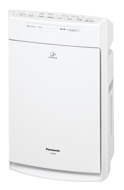 パナソニック加湿空気清浄機 [適用床面積]空気清浄:25畳 F-VXR55-W