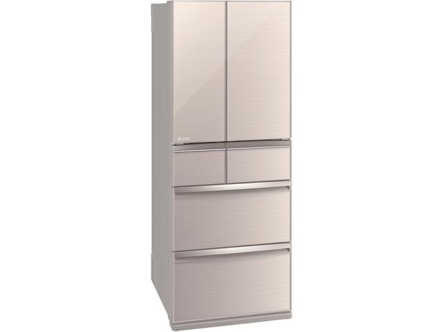【標準設置無料】三菱電機 470L 6ドア置けるスマート大容量 WXシリーズ冷蔵庫MR-WX47LD-F