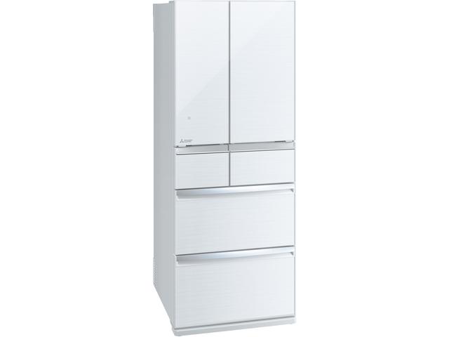 【標準設置無料】三菱電機 470L 6ドア置けるスマート大容量 WXシリーズ冷蔵庫MR-WX47LD-W