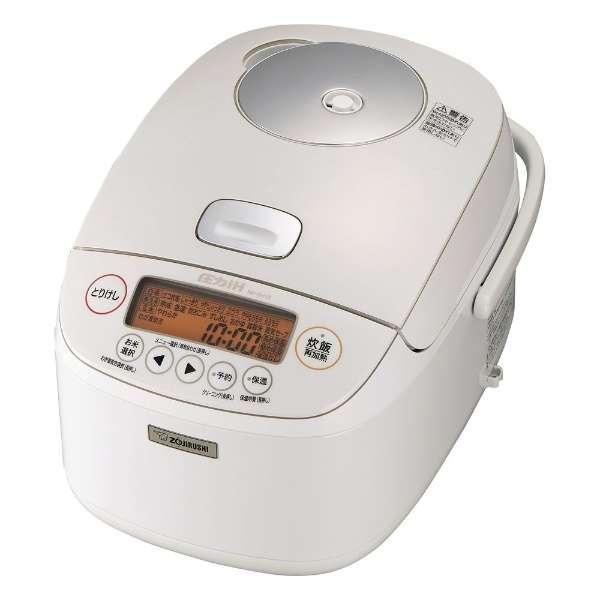 象印 極め炊き 1升炊き 圧力IH炊飯ジャーNP-BH18-WA