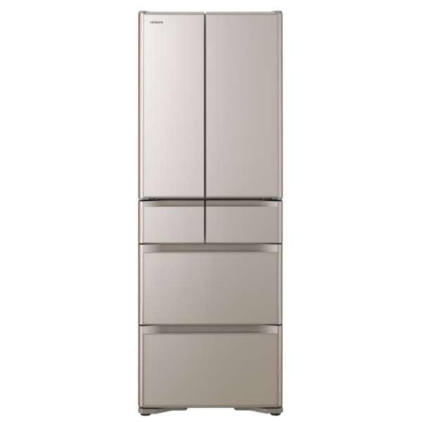 日立 430L 6ドア冷蔵庫R-XG43J-XN