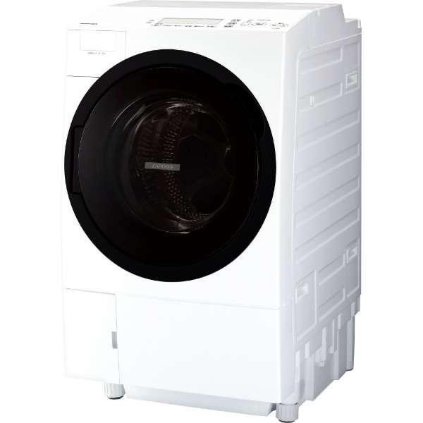 東芝 ZABOON 11.0kg ドラム式洗濯乾燥機【左開き←】 TW-117A7L-W