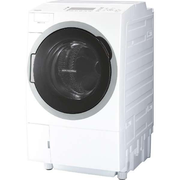 東芝 ZABOON 12.0kg ドラム式洗濯乾燥機【左開き←】 TW-127V7L-W