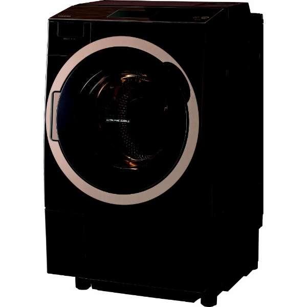 東芝 ZABOON 12.0kg ドラム式洗濯乾燥機【左開き←】 TW-127X7L-T