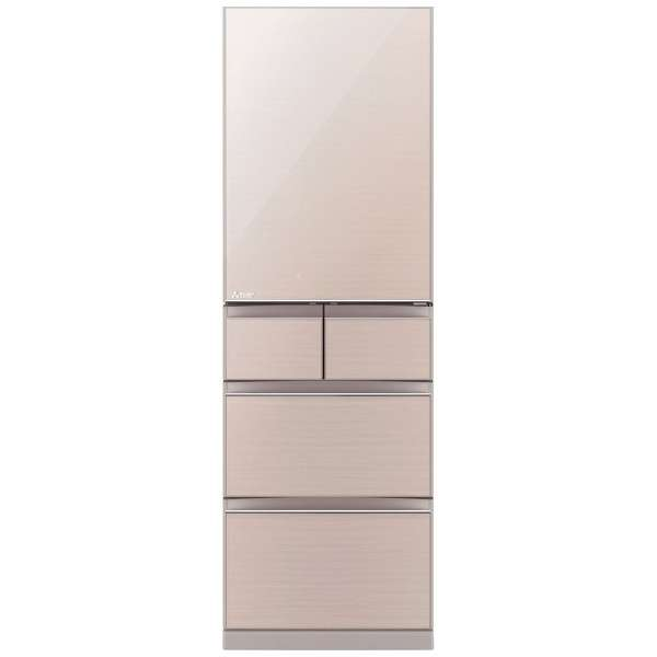 三菱電機 455L 5ドア置けるスマート大容量 Bシリーズ冷蔵庫【左開き←】MR-B46DL-F