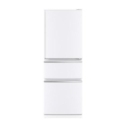 【標準設置無料】三菱電機 300L 3ドア CXシリーズ冷蔵庫【右開き→】MR-CX33D-W