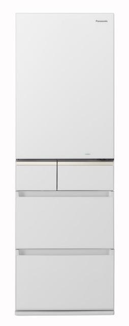 【標準設置無料】パナソニック 406L パーシャル搭載冷蔵庫【右開き→】NR-E414GV-W