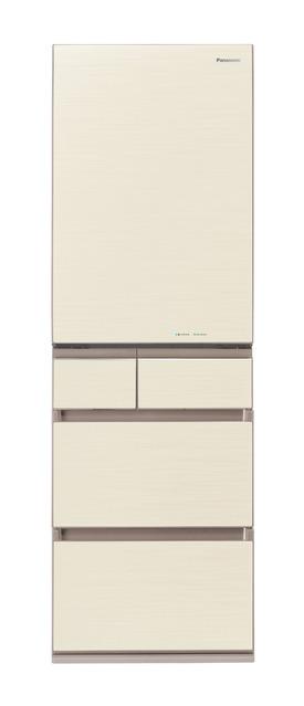 【標準設置無料】 パナソニック 450L パーシャル搭載冷蔵庫【左開き←】NR-E454PXL-N