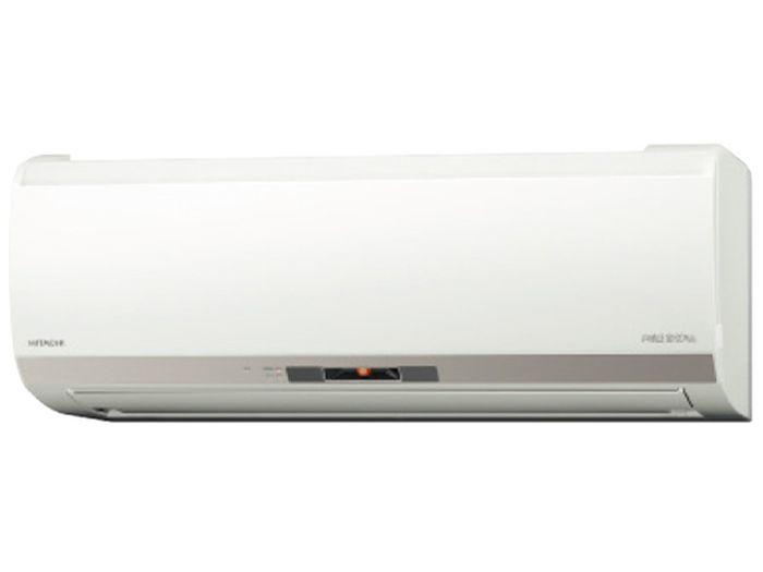 日立 19年モデルEKシリーズメガ暖 白くまくん RAS-EK56J2-W 18畳用冷暖房エアコン