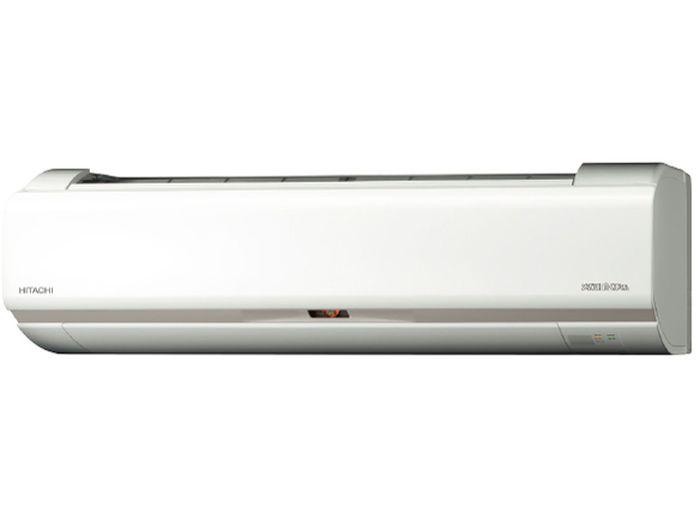 日立 19年モデルHKシリーズメガ暖 白くまくん RAS-HK22J-W 6畳用冷暖房エアコン