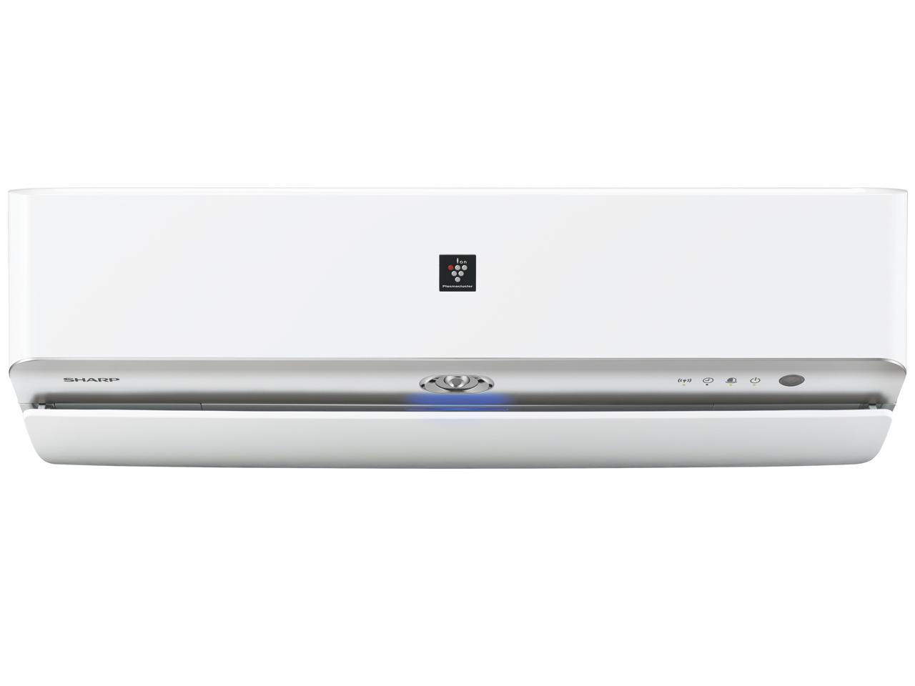 シャープ 19年度モデルH-Xシリーズ AY-J71X2-W【高濃度プラズマクラスター搭載】冷暖房タイプ23畳用エアコン