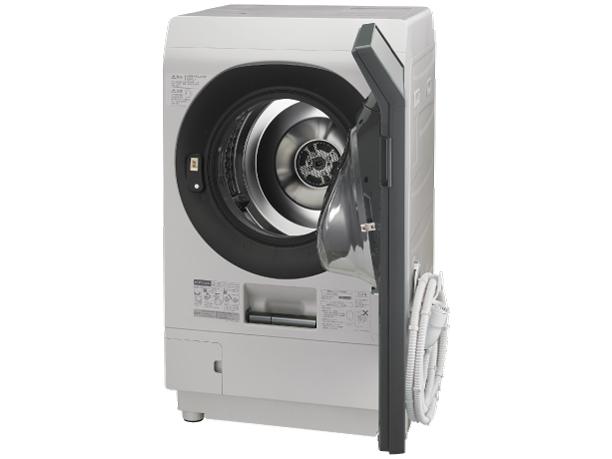 シャープ 11.0kg ドラム式洗濯乾燥機ES-W111-SR【右開き→】