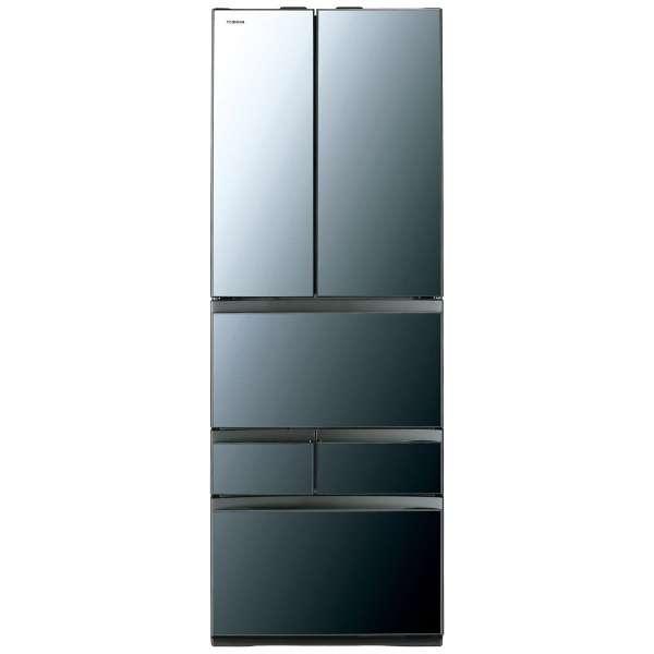 【標準設置無料】東芝 べジータ 461L 6ドア冷蔵庫GR-R460FZ-XK