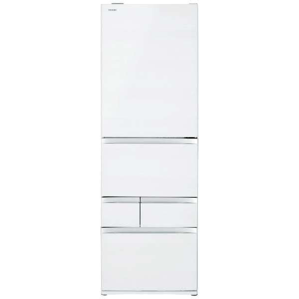 【標準設置無料】東芝 べジータ 465L 5ドア冷蔵庫GR-R470GW-UW