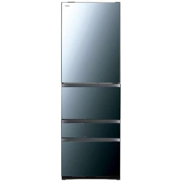 【標準設置無料】東芝 べジータ 465L 5ドア冷蔵庫【左開き←】GR-R470GWL-XK