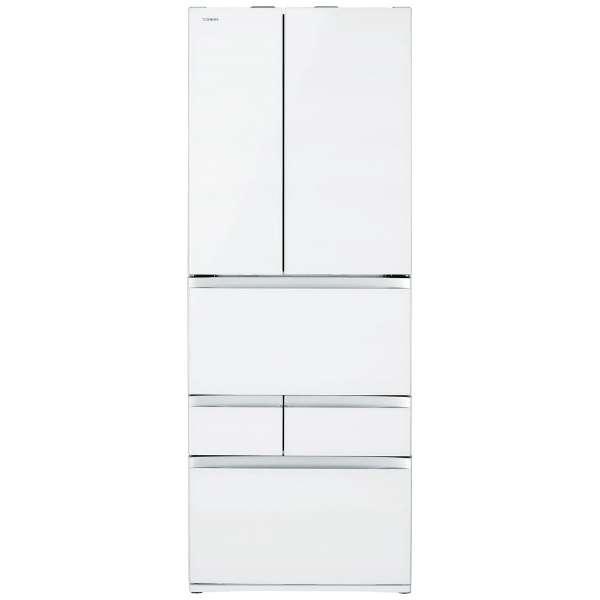 【標準設置無料】東芝 べジータ 601L 6ドア冷蔵庫GR-R600FZ-UW