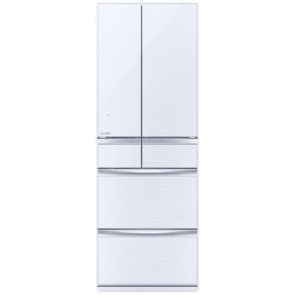 【標準設置無料】三菱電機 置けるスマート大容量 455L 6ドア冷蔵庫MR-MX46E-W