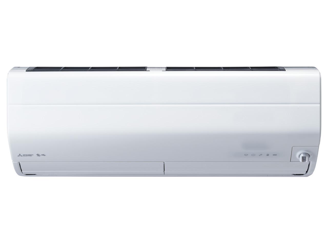 三菱 19年モデル MSZ-ZD6319S-W【ズバ暖霧ヶ峰】搭載冷暖房21畳用エアコン200V仕様