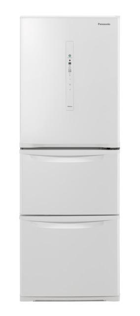 【標準設置無料】パナソニック 335L ノンフロン冷凍冷蔵庫左開き← NR-C340CL-W