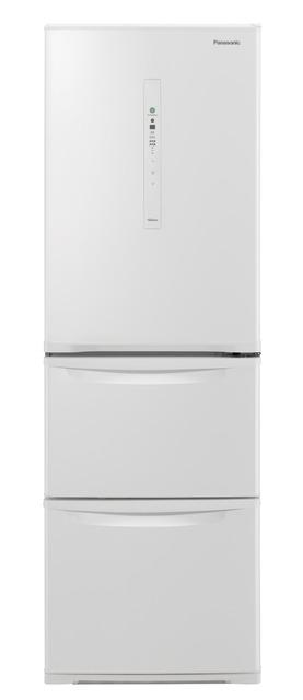 【標準設置無料】パナソニック 365L ノンフロン冷凍冷蔵庫左開き← NR-C370CL-W