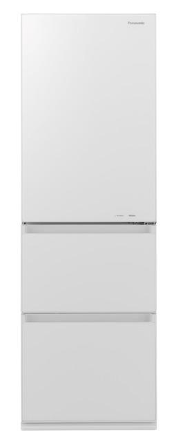 【標準設置無料】パナソニック 365L ノンフロン冷凍冷蔵庫左開き← NR-C370GCL-W
