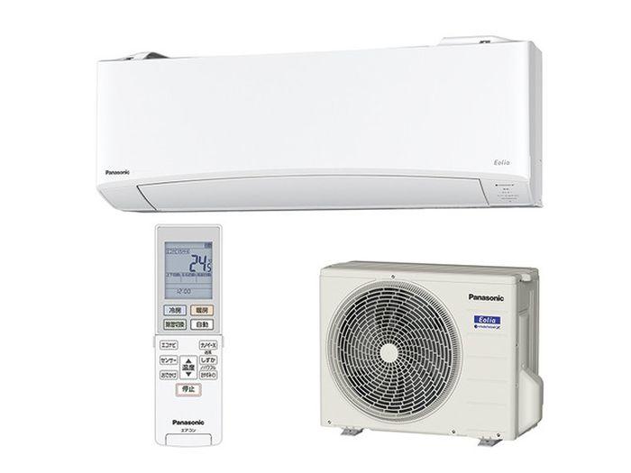 パナソニック エオリア 19年度モデル EXシリーズ CS-229CEX-W 【6畳用冷暖房除湿エアコン】