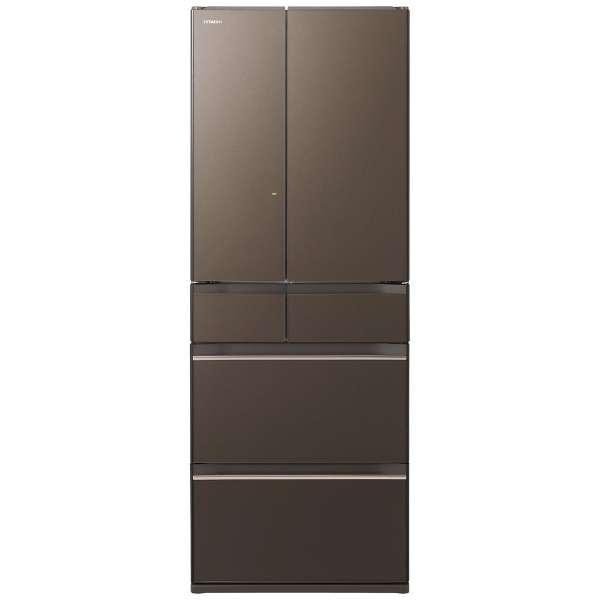 【基本設置無料】日立 HWシリーズ 602L 6ドア冷蔵庫 R-HW60K-XH 創業73年、新品不良交換対応
