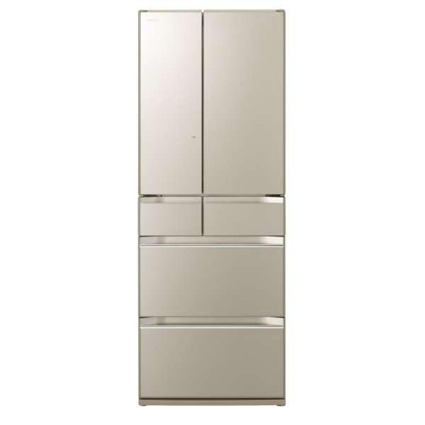 【基本設置無料】日立 KWシリーズ 567L 6ドア冷蔵庫 R-KW57K-XN 創業73年、新品不良交換対応