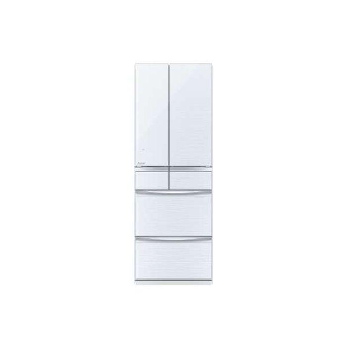 【メーカーB級品・基本設置無料】三菱電機 置けるスマート大容量MXシリーズ 503L 6ドア冷蔵庫冷蔵庫 MR-MX50D-W-B 重量123kg