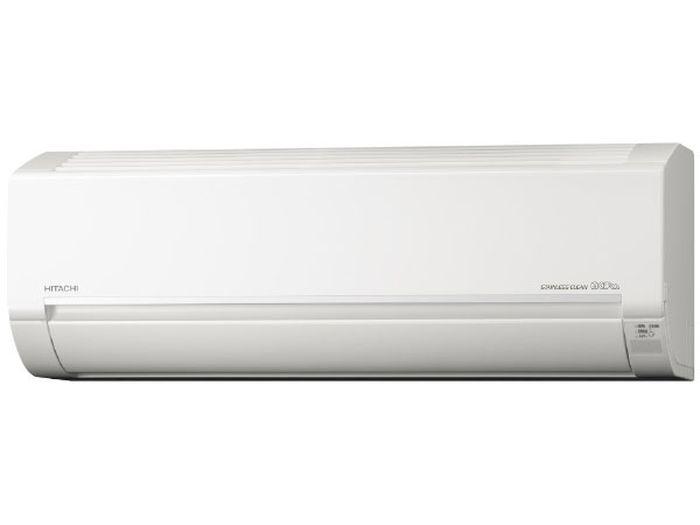 日立19年モデル白くまくんDシリーズ 10畳用冷暖房エアコンRAS-D28J-W