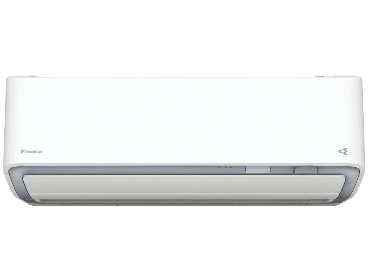 ダイキン 19年モデル DXシリーズ S28WTDXV-W 【200V用 電源直結型】10畳用冷暖房除湿エアコン