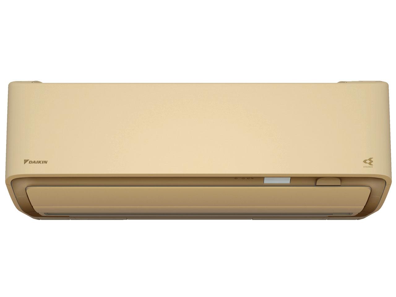ダイキン 19年モデル うるさら7 RXシリーズ S56WTRXV-C 【200V用 電源直結型】18畳用冷暖房除湿エアコン