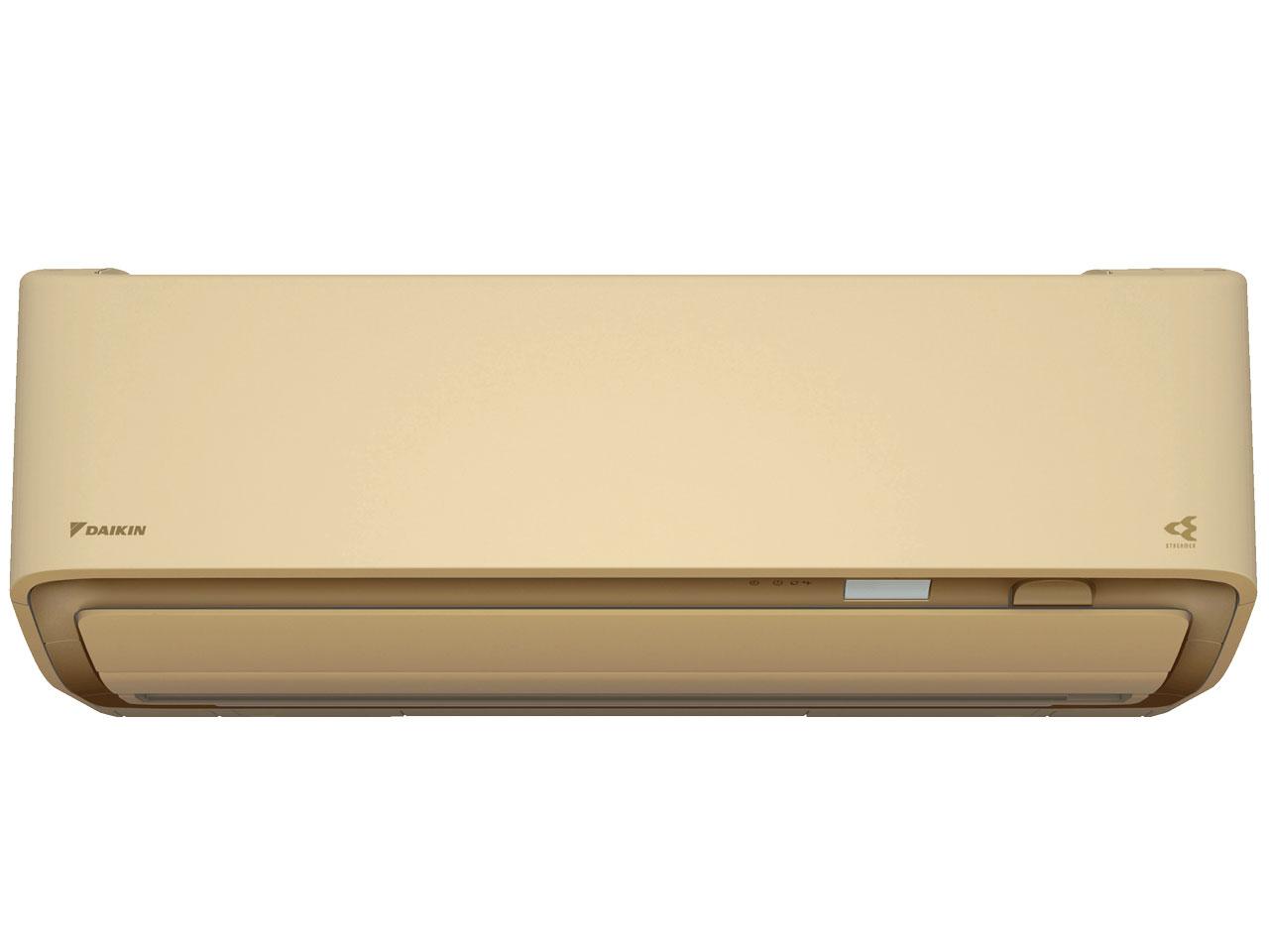 ダイキン 19年モデル AXシリーズ S80WTAXV-C 【200V用 電源直結型】26畳用冷暖房除湿エアコン