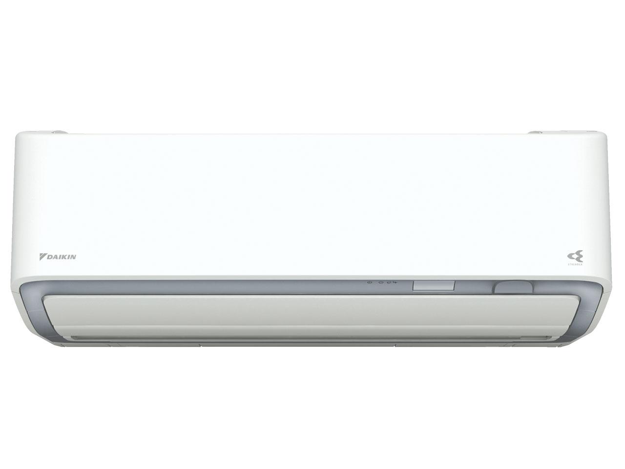 ダイキン 19年モデル AXシリーズ S80WTAXV-W 【200V用 電源直結型】26畳用冷暖房除湿エアコン