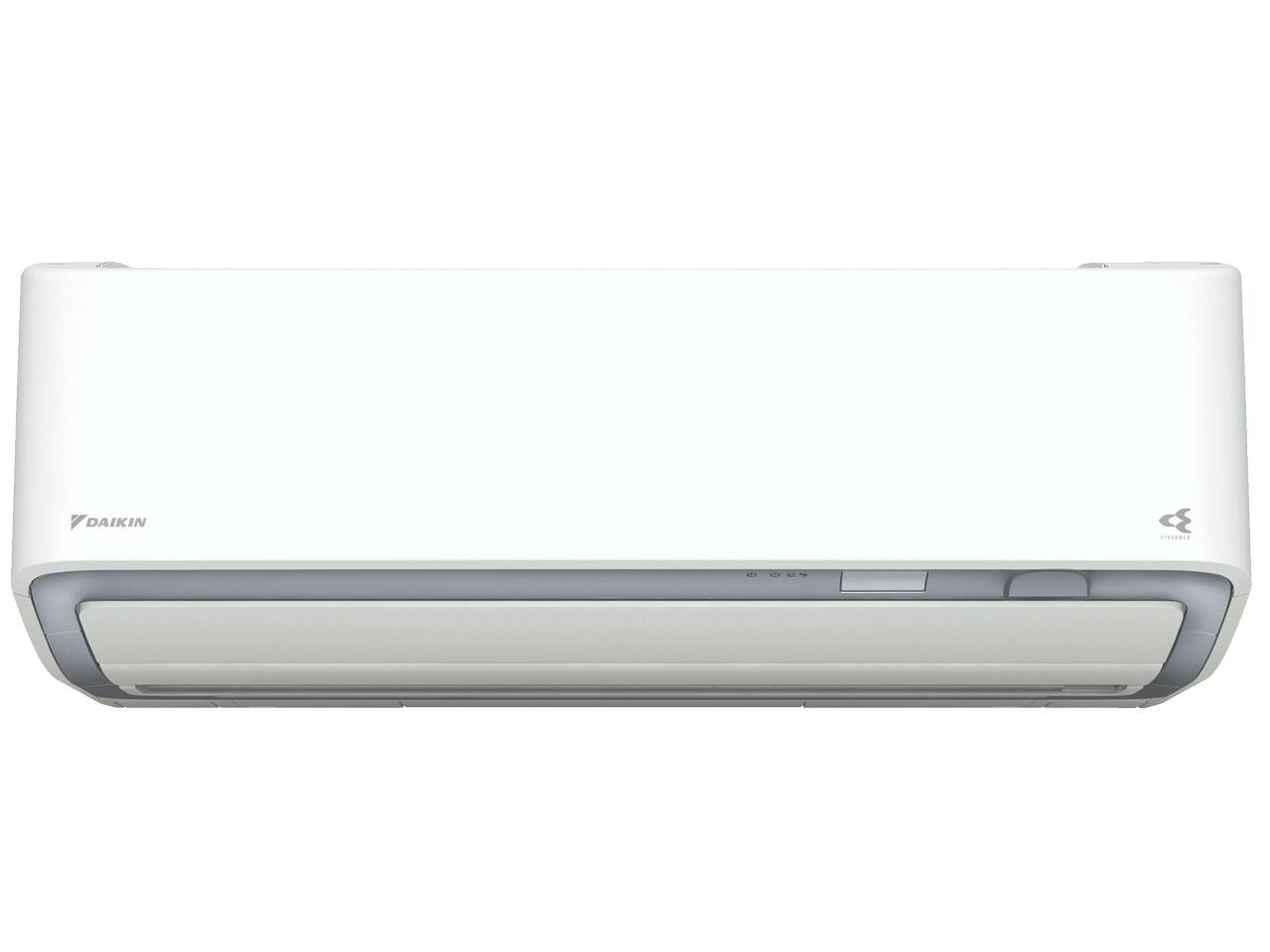 ダイキン 19年モデル うるさら7 RXシリーズ S80WTRXV-W 【200V用 電源直結型】26畳用冷暖房除湿エアコン