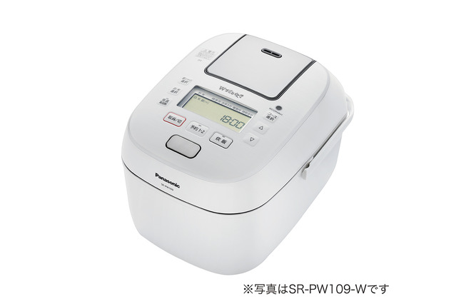 パナソニック 可変圧力IHジャー炊飯器SR-PW189-W