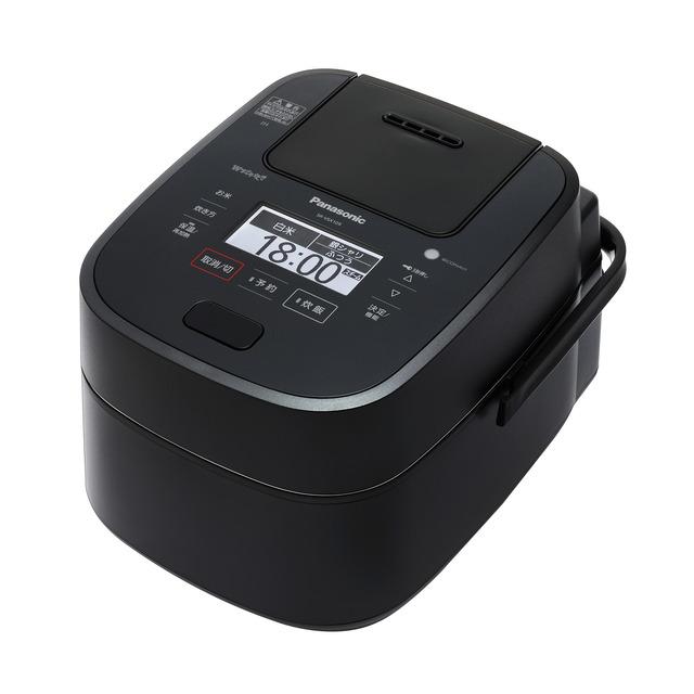 パナソニック スチーム&可変圧力IHジャー炊飯器SR-VSX109-K