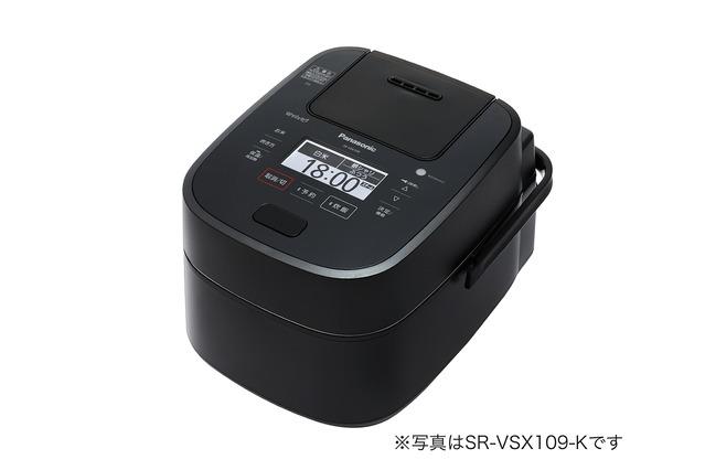 パナソニック スチーム&可変圧力IHジャー炊飯器SR-VSX189-K