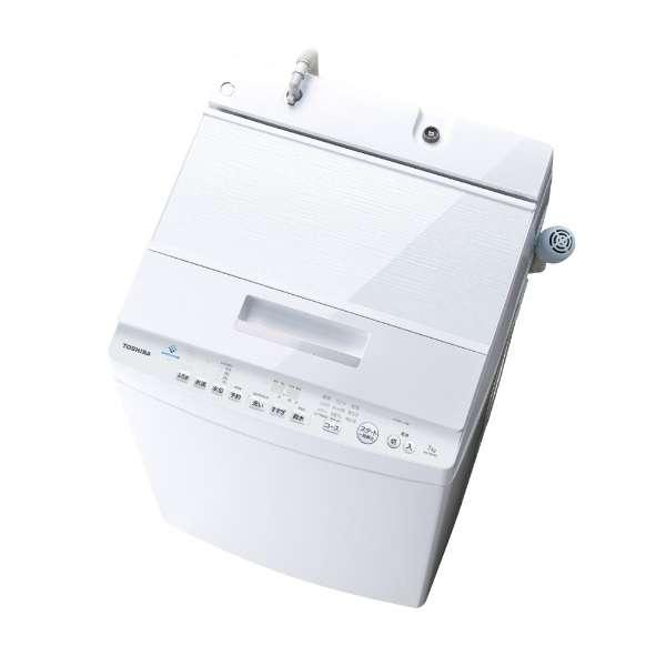 東芝 ZABOON 7.0kg 全自動洗濯機 AW-7D8-W