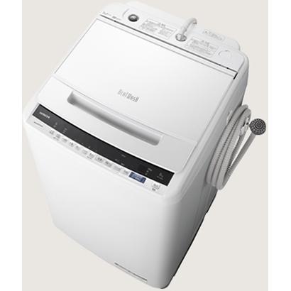 日立 ビートウォッシュ8.0kg 全自動洗濯機 BW-V80E-W